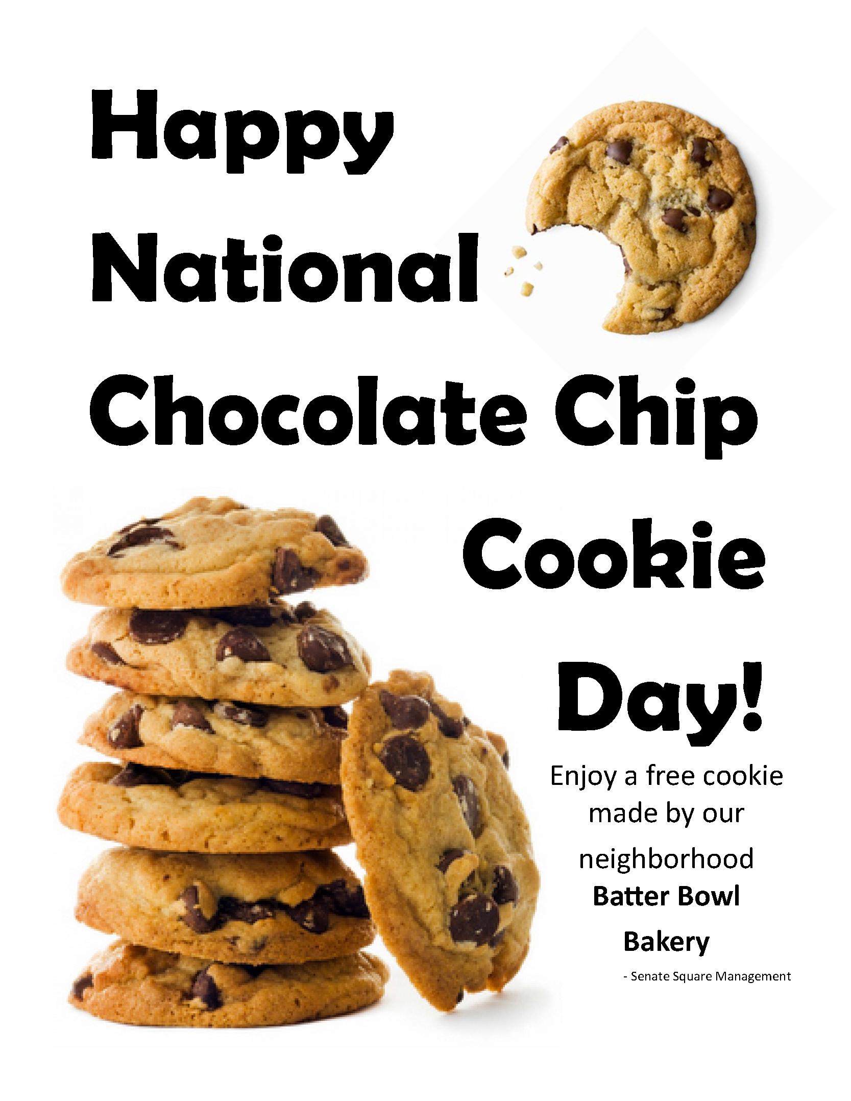 National Chocolate Chip Cookie Day – erica susan krauss